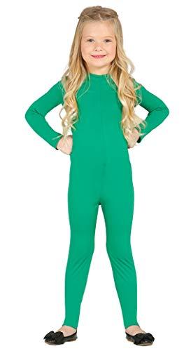 grüner Ganzkörper Anzug für Kinder Gr. 110 - 146, Größe:128/134