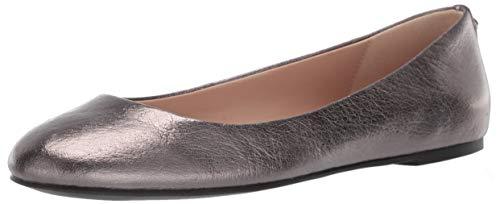 BCBGeneration Women's Geremia Flat Shoe, Gunmetal, 10 M US