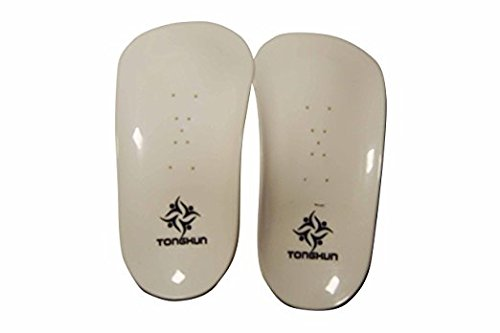 TONGKUN Child Kids Orthotic Arch Half-Length Insoles Flat Foot Support Splayed Feet Corrector Shoes Instep Pain Ache Relieve Insert Brace Pad Hallux Valgus Pigeon-Toed Treatments Tools Sole M/4.72in