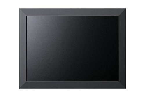 Bi-Office Kamashi - Pizarra de tiza, marco MDF, 60 x 45 cm, color gris