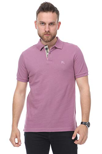 BURBERRY Brit Poloshirt, Dusty Pink Gr. XXL, rosa - dusty pink