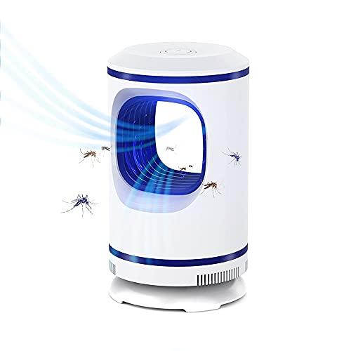 Suogoiii Insektenvernichter, Elektrischer Insektenvernichter Lampe, UV Mückenfalle, USB Mückenlampe Moskito Killer, Insektenfalle Fliegenfalle Elektrisch für Innen, Schlafzimmer, Camping