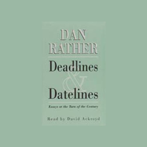 Deadlines and Datelines audiobook cover art