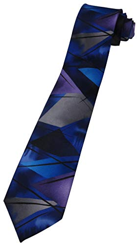 Men's J. Jerry Garcia Neck Tie Collection Fifty-eight The Blue Iceberg XL EXTRA LONG