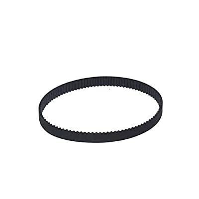 Auart Zyilei-Belt Timing C-18 3D Printer GT2 10mm Closed Loop Rubber 2GT Timing Belt, Width 10mm, Length 100 110 120 130 140 150 154 158 160mm Durable and wear-resistant