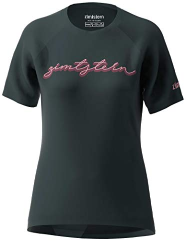 Zimtstern Damen Sweetz Tee WMNS T-Shirt, Pirate Black/Blush, XL