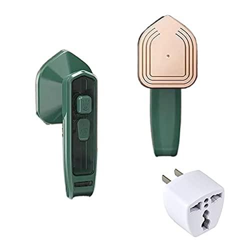 Hierro de vapor micro profesional, vapor de ropa de mano, pequeña plancha de vapor portátil para uso doméstico (u.s..