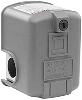 Royal Apex Schneider Electric Pressure Switch FSG2AB 4.6 bar - Water Pump Adjustable Scale 2 Thresholds - 2NC - SQUARE D -...