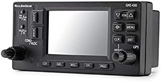 Real Sim Gear GNS430 Bezel | Realistic GPS Hardware for Flight Simulators | Student Pilot Navigation System | 3.5