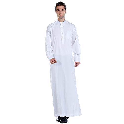 Haodasi Männer Islamische Arabische Muslimische Kleidung Jubba Thobe Kaftan Nahost Traditionelles Kostüm Dubai Türkisches Dishdasha