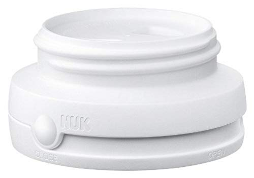 NUK Drehverschluss, für First Choice Babyflaschen, BPA-frei, auslaufsicher, 1 Stück, weiß
