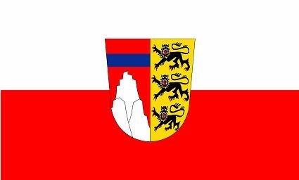 Fahne Flagge Landkreis Oberallgäu Grösse 1,50x0,90m