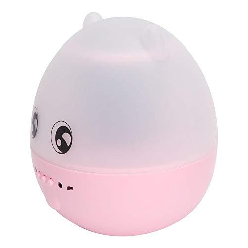 Fuente de alimentación con control remoto, luz LED de audio Bluetooth, proyector de luz nocturna, duradero para cumpleaños y boda