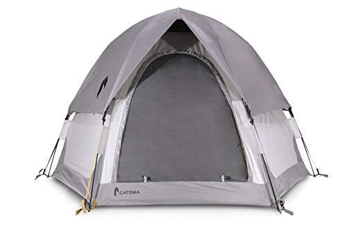 CATOMA Unisex-Erwachsene Sable Speedome Tent Zelt, grau, 2 Man