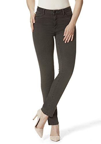 Stooker Milano Damen Stretch Jeans Hose Magic Shape Effekt - Weiss - Arzthose, Krankenpflegerin (34W x 30L)