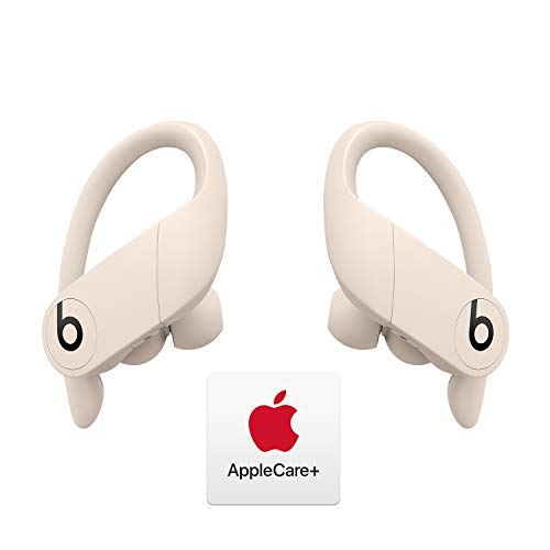 Powerbeats Pro Totally Wireless Earphones - Apple H1 Chip - Ivory with AppleCare+ Bundle