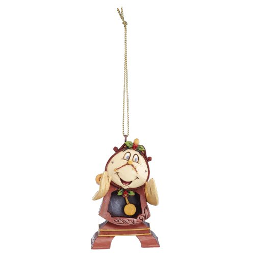 Disney Traditions Cogsworth Hanging Ornament