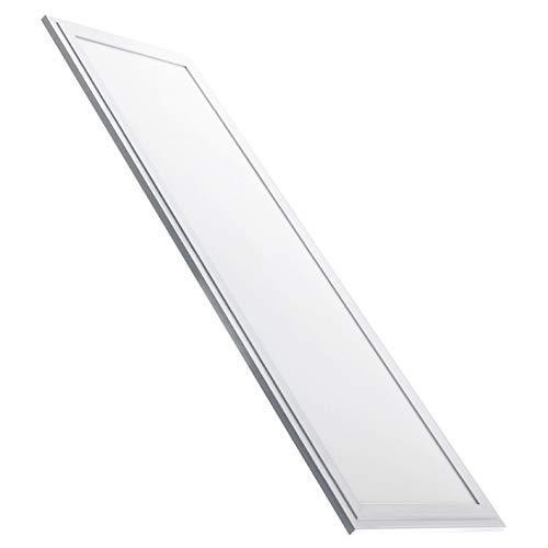 Panel Led Ultrafino 120x30cm. 48w. Color Blanco Neutro (4500K). 4400 lumenes. Driver incluido. A++