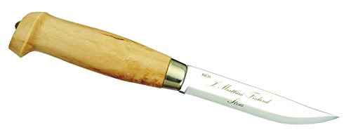 Marttiini Unisex– Erwachsene Tundra-Messer Birkenholz Gesamtlänge: 22.8 cm, M