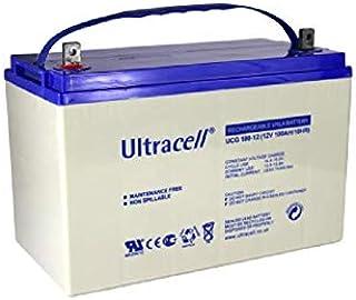بطارية سائلة عميقة 12 فولت 100 امبير من التراسيل UCG100-12