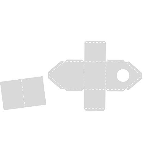 Rayher 7965000 Schablone, Vogelhaus Tirol, 15,5x20,8 cm, SB-Btl. 1 Stück