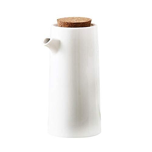 Tazas de inmersin Cocina de porcelana Cocinar botella de aceite Herramientas Botellas de almacenamiento de aceite de oliva Especias bote de salsa de soja vinagre de condimento de la lata Salsa jarra