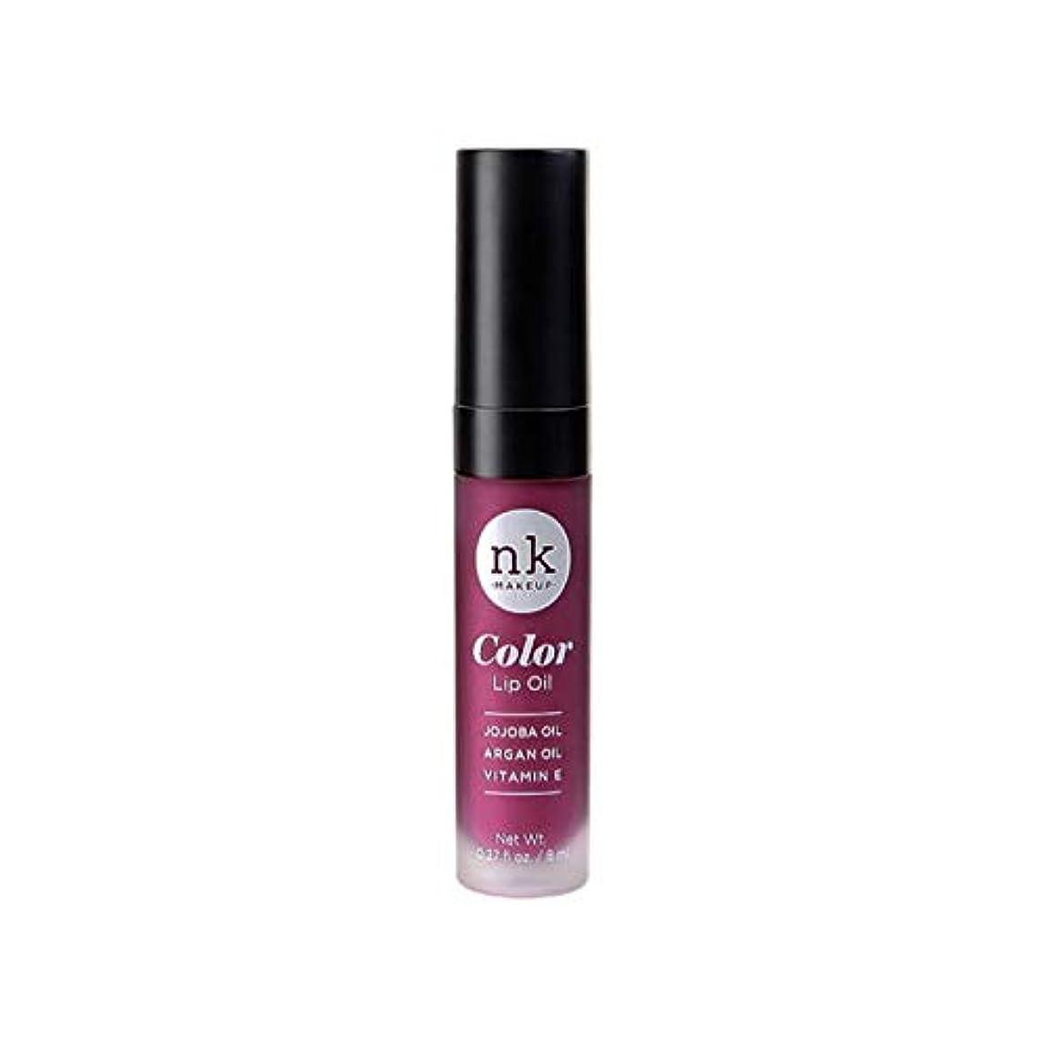 主婦行動悲しいNICKA K Color Lip Oil - Vintage Plum (並行輸入品)