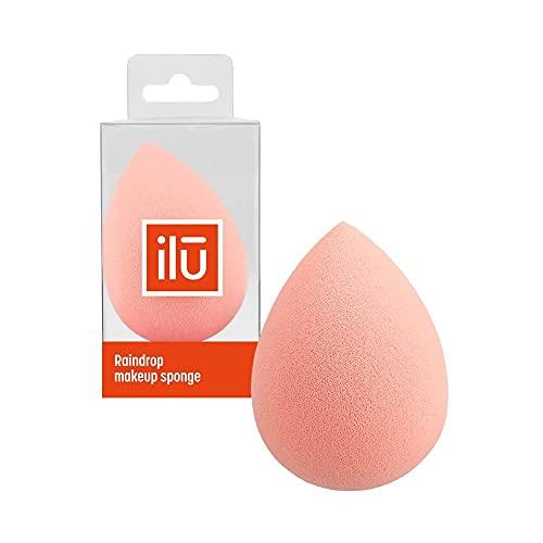 T4B ILU Eponge à Maquillage Goutte Maquillage Professionnel, 1 Pièce (Orange)