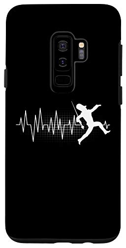 Galaxy S9+ Funny Drum Major Heartbeat Marching Band Gift Men Women Kids Case