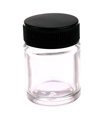 Glazen Airbrush Single Action Fles. Jar Standaard zuignap