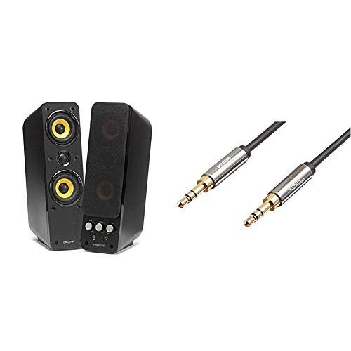 Creative GigaWorks T40 Series II - 2.0 Lautsprechersystem (Hi-Fi, Stereo/AUX-IN,...