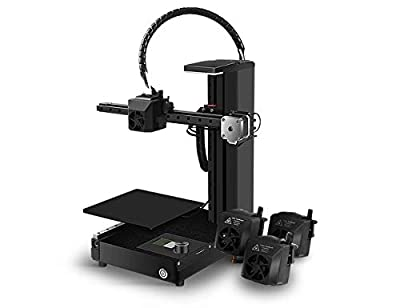 EcubMaker TOYDIY 4-in-1 3D Printer FDM Laser CNC Dual-FDM with Auto Leveling,Heated (180 x 180 x 180mm) Build Plate,PLA