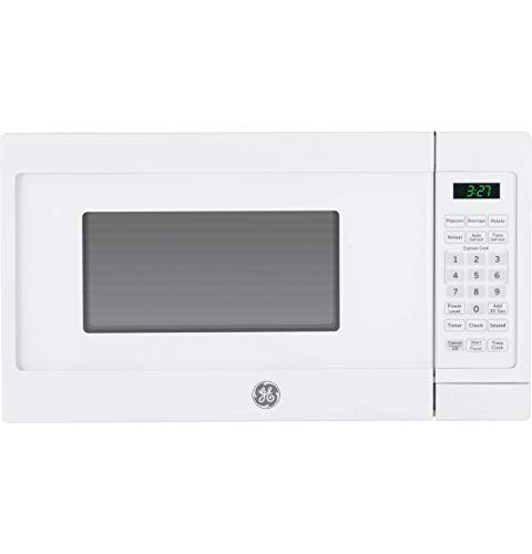 GE Appliances JEM3072DHWW GE 0.7 Cu. Ft. Capacity Countertop Microwave Oven, White