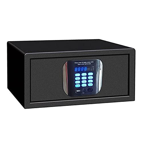YUANKEXIANG Caja Segura Y De Bloqueo, Caja De Seguridad Electrónica, Caja De Dinero, Caja De Seguridad De Teclado Digital, Oficina De Oficina En El Hogar.