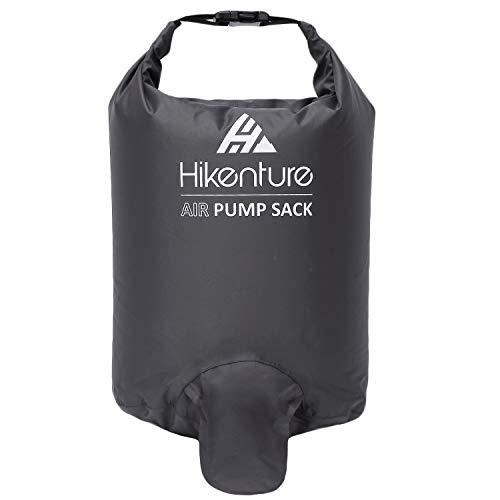 Hikenture Pumpsack Luftmatratzen kleines Packmaß - Outdoor Pumpbag Blasesack für Isomatte