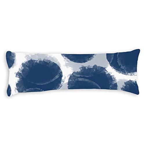CICIDI Funda de almohada para dormir lateral FXH20200414GPC001 - Funda de cojín transpirable con cremallera de algodón y poliéster