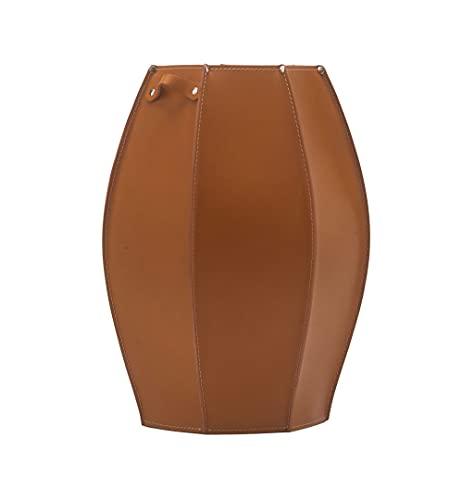 Gavemo Audrey portaombrelli in Cuoio, Porta ombrelli Design Moderno da Interno per la Casa, Ufficio, Hotel, Prodotto da Limac Design, Marrone