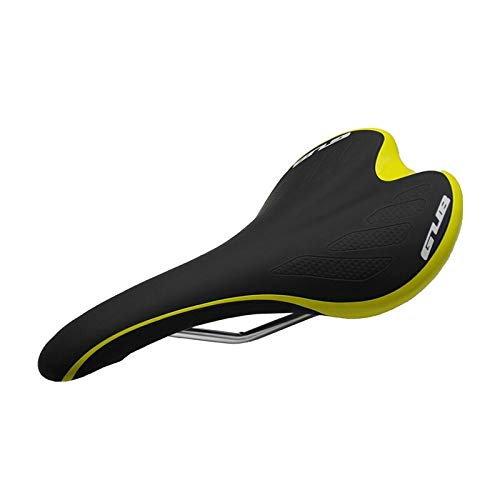Sport all'aperto GUB Pelle MTB della Strada della Montagna Sella della Bici in Microfibra 3083 della Sella della Bicicletta Strada Sillin Bicicleta Selle Ilalia (Color : Giallo)