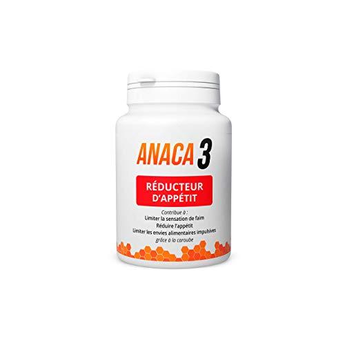 Anaca3 – Réducteur d'Appétit – Sensation de satiété – Complément Alimentaire – Programme 30 jours – 90 gélules