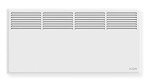 ICQN Konvektor Heizgerät | Wandmontage | Konvektionsheizgerät | 2500 Watt | Heizung für Indoor Standheizung | Konvektor Series IK2000