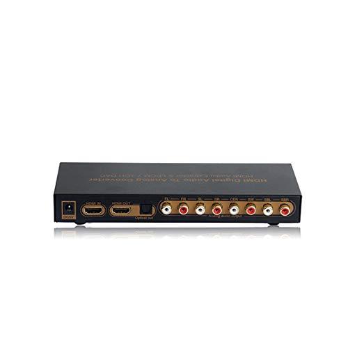 lizeyu 1080P, convertidor HDMI HDMI a 7.1 convertidor de Audio Digital HDMI a 7RCA
