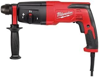 """Milwaukee M4 5386-21 Rotomartillo Sds Plus 1.1/32"""" 780W 6.4 Amp Vvr 0-1500 Rpm 0-5625 Gpm 3 Modos 2.4 Lb-Ft"""