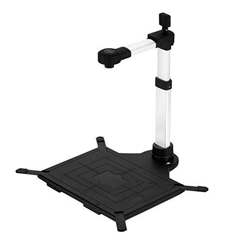 Review TYI -OCR multilingual Recognition Document Camera for PC, 16MP USB Scanner Compatible, Front ...