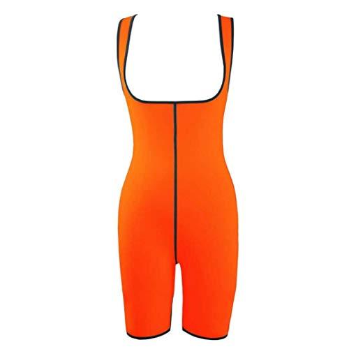 GOWINEU Swaet Bodysuit Saunaanzug Taille Trainer Korsetts Neopren Body Shaper Frauen Abnehmen Volle Form