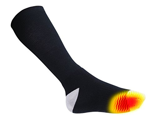 Flambeau F250 Men's Heated Socks Kit, Medium, Gray