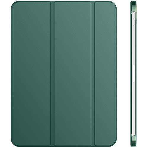 JETech Custodia Compatibile con iPad Air 4a Generazione 2020 10,9 Pollici, Cover con Auto Svegliati/Sonno (Blu Nebbioso)