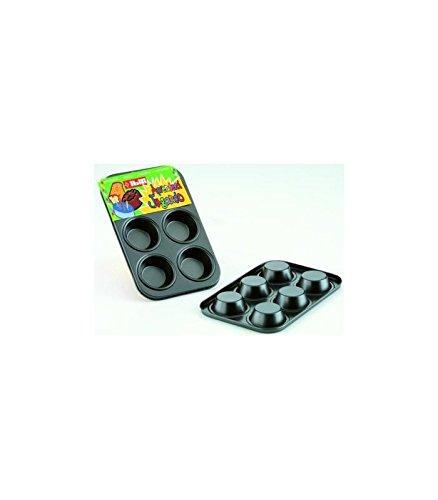 IBILI 820504 - Molde Muffin 6 Cavidades Moka 15X10 Cm