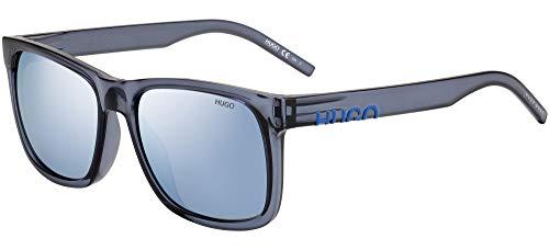 Hugo Boss Sonnenbrillen (HG-1068-S PJP3J) blau kristall - grau-braun - silber verspiegelt