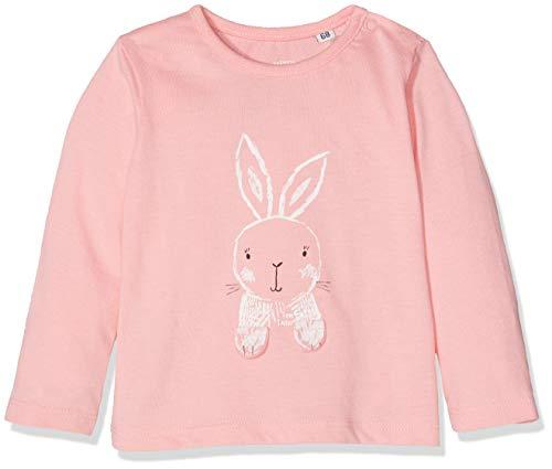 TOM TAILOR T- Shirts 1/1, Bébé Fille, Rose (Flamingo Pink 2063), 6 Mois