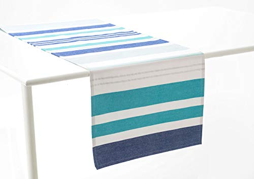 Amadeus - Chemin de Table d'extérieur océan 45x150 cm